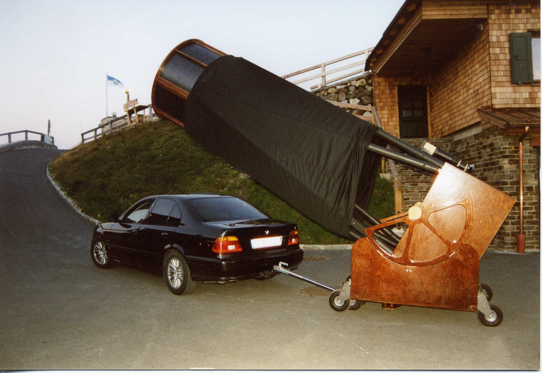 Телескоп 300 мм своими руками
